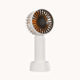 BCASE 3-Speeds Portable Mini Handheld Fan Silent Comes With Base Outdoor USB Charging Fan From Xiaomi Youpin