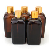 5szt. Amber Glass Bottles for Essential Oil Perfume