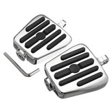 Male Mount Footboards Motorcycle Foot Board Pegs For Harley Davidson Chrome