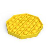 Bubble Zintuiglijke Decompressie Speelgoed Octagon Anti-stress Extrusie Fidget Reliever Grappig Onderwijs Puzzel Speelgoed voor Volwassenen Kinderen