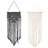 Wall Hanging Hand-knitted Cotton Rope Macrame Tapestry Woven Home Art Decor Ornament