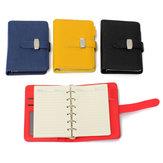 A7 Pocket PU Deri Kapak Notebook Günlüğü Filofax Kişisel Organizatör Planlayıcısı