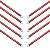 10 Pieces 2.54XH 22AWG 13CM 2S 3Pin Balance Cable Silicone Wire for Lipo Batteries