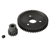 1Set 15T/17T/19T Gear+54T Gear For 727 Huanqi Slash RC Car Parts