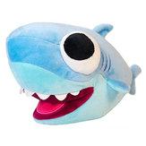 25 cm Big Eyes Shark Peluche de juguete de peluche Animal Shark Soft muñecas rellenas para los niños regalo