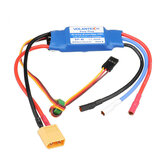Volantex Easy Plug 40A 2-4S Brushless ESC With XT60 Plug 180 Dupont Cable For TrainStar Ascent 747-8 1400mm RC Airplane