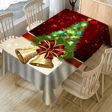 Christmas Table Cloth Chair Cover 3D Print Rectangular Dustproof Table Cover Chair Seat Protector Slipcover for Wedding Banquet Party Hotels Kitchen Home Office Furniture Decorations
