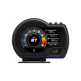 Head Up Display OBD2+ GPS Color LED Navigation HUD Speed Warning Speedmeter Kits