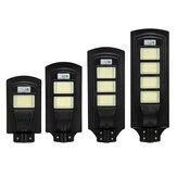 600- 2800W LED Solar Poste PIR Movimento Sensor Lâmpada de parede Segurança c / remoto