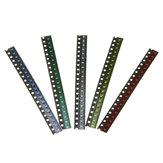 500Pcs 5 Χρώματα 100 Κάθε 0603 LED Diod Assortment SMD LED Diode Kit Πράσινο / ΚΟΚΚΙΝΟ / Λευκό / Μπλε / Κίτρινο