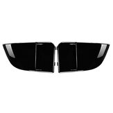 Black Fog Light Lamp Bumper Bezel Cover Cap For 2004-2005 Subaru Impreza WRX STi 2PCS