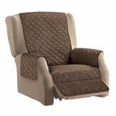 KC-PCP1 Capa protetora acolchoada reversível para móveis capa reclinável para sofá decoração para casa