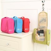Multifunctional Travel Storage Bag Hanging Beautician Women Cosmetic Handbag Wash Makeup Bag