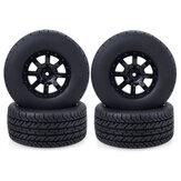 4 PCS ZD Racing 1/10 RC pneu roda de carro peças curtas de veículo de caminhão 10044