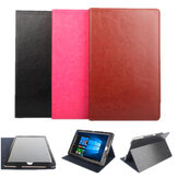Folding Stand PU Leather Case Cover voor Chuwi HiBook