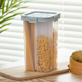 Transparent Sealed Storage Box Crisper Grains Food Storage Tank Household Kitchen Cans Containers