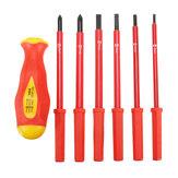 6 em 1 conjunto de chave de fenda elétrico isolado Kit de ferramentas de reparação de alta resistência de alta tensão de 1000V