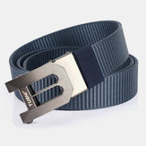 Men Nylon 120 cm Automatyczna klamra Casual Young All-Match Jeans Belt