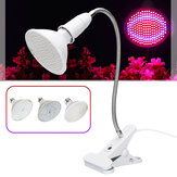 AC85-265V 15W 20W 26W E27 LED Bulb Plant Grow Light Desktop Growth Lamp for Flower EU Plug