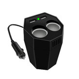 800W Peak Cup Type Car Power Inverter DC 12V To AC 110V/220V With Splitter Dual USB Mosquito Repellent Air Purification