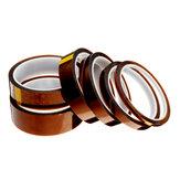 5 mm / 10 mm / 15 mm / 20 mm / 25 mm / 30 mm hoge temperatuur polyimide film hittebestendige tape voor 3D-printer