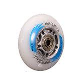 88A Hardness Bat Skateboard Wheel Flashing Skateboard Wheel 80x24mm