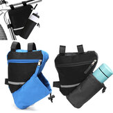 Bicycle Bag Rainproof Large Capacity Bike Frame Bag Triangle Pouch Water Bottle Holder Storage Basket