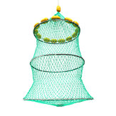 14 Floats Fishing Net Folding Floating Keeper Net Bait Cage Tackles