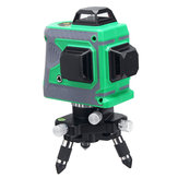 3D 12 Lines Self Leveling Green Laser Beam Level Auto 360° Rotary Cross Measure