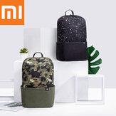 Original Xiaomi 10L estrelado Sky mochila de camuflagem mulheres homens 10 polegadas laptop Bolsa nível 4 repelente de água para estudantes viajando acampar