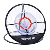 Malla al aire libre Red de Entrenamiento de Golf Indoor Chipping Pitching Practice Net Cage Portable Hitting Aid