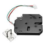 K03 DC 12V Elettrico Porta dell'armadio magnetico intelligente serratura Fail Secure 4 fili con sblocco manuale