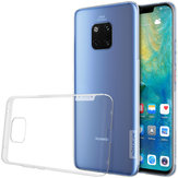 NILLKIN Transparent Shockproof Anti-slip Soft TPU Back Cover Protective Case for Huawei Mate 20 Pro