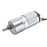 37GB-545 DC 6V 55RPM Gear Reducer Motor with Encoder Geared Reduction Motor