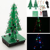Geekcreit® DIY Christmas Tree LED Flash Kit 3D Electronic Learning Kit