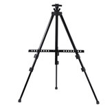 Telescopic Tripod Easel Portable Height Adjustable Metal Sketch Easel Stand Foldable Travel Easel Aluminum Alloy Easel Sketch Drawing For Artist Art Supplies