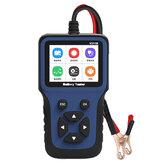 JDIAG 12V samochodowy detektor akumulatora tester ładowarki akumulatora motocykl samochodowy analizator akumulatora narzędzie testowe
