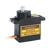 Racerstar MG90S 9g Micro Metal Gear Analoge Servo voor 450 RC Helicopter RC Auto Boot Robot