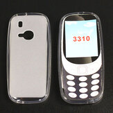 Bakeey Frosted Shockproof Ultra-Thin Non-Yellow Soft TPU Protective Case for Nokia 3310 2017