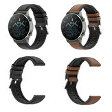 20mm/22mm Silicone Leather Watch Strap Watch Band for Huawei Watch GT2/GT2e/GT2 Pro/ BlitzWolf®BW-HL1/HL2/HL3 Amazfit Watch