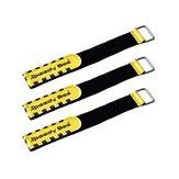 3Pcs Speedy Bee 20X200mm Amarra Bateria Correia Cor amarela para Lipo Bateria