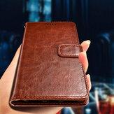 Bakeey Flip Card Slot Wallet PU Housse en cuir antichoc pour Sharp Aquos S2