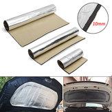 Protection thermique d'isolement thermique de tapis de coton d'isolation phonique de voiture d'épaisseur du papier d'aluminium 10mm