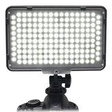 Mcoplus LE-168A Dimmable Studio LED Video Light 3200k / 5500k Photography Lâmpada de iluminação de preenchimento para câmera DSLR
