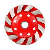 100 ملم شريحة الماس طحن عجلة القرص ملموسة البناء الحجر الرملي الرملي عجلة الأحمر