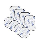 Bakeey Magnetische Metalen Plaat Voor Auto Telefoon Houder Universele Ijzeren Plaat Schijf Sticker Mount Mobiele Mobiele Telefoon Magneet Stand met 3M Garenloos