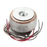 AC220V para Dual 26V + 12V 150W + 150W Transformador Toroidal Fonte de Alimentação Adequado para Placa de Amplificador de Alta Potência 150W