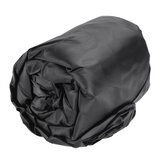 11-13ft 14-16ft 17-19ft 20-22ft Boat Cover UV-Protected Premium Heavy Duty 210D Trailerable Canvas Zwart