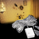 3M*2M 192LED Waterproof Net String Curtain Fairy Light for Holiday Wedding Party EU Plug AC220V