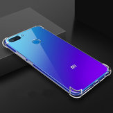 Bakeey Air Bag Shockproof Transparent Soft TPU Protective Case for Xiaomi Mi8 Mi 8 Lite 6.26 inch
